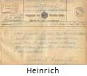 Krakauer Telegram from Heinrich Margulies