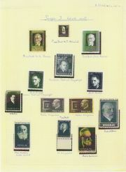Postage stamps : 'People I have known'